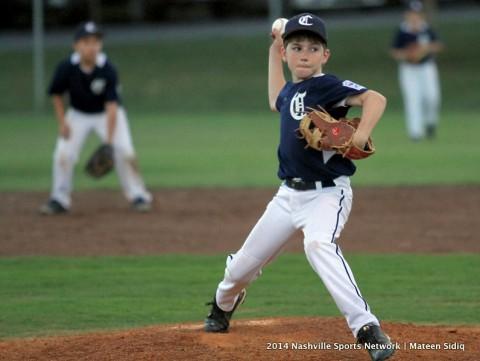 Clarksville Nationals 9-10 year olds shutout against Goodlettsville 17-0. (Mateen Sidiq - Nashville Sports Network)