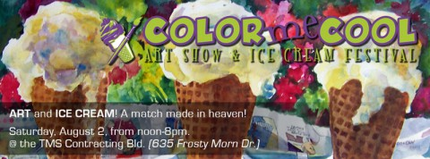 Color Me Cool this Saturday, August 2nd