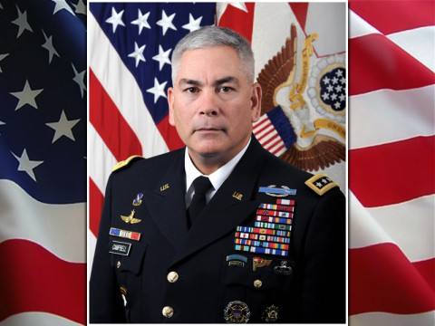 Vice Chief of Staff of the Army General John F. Campbell received a presidential nomination to serve as NATO's International Security Assistance Force and U.S. Forces Afghanistan Commander. (U.S. Army)
