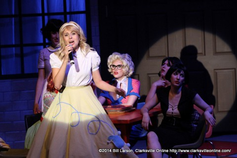 Grease the Musical at the Roxy Regional Theatre.