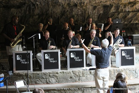 Cumberland Winds Jazz Project to play at Cooling in the Cave this Saturday, July 25th at Dunbar Cave.
