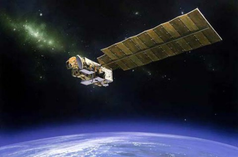 NASA's 10-year-old Aura satellite, which studies Earth's atmosphere, continues to help scientists understand Earth's changing climate. (NASA)