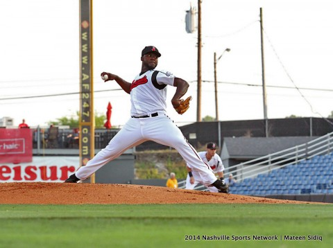 Nashville Sounds Pitcher Ariel Pena's gives his Best Start Of Year.