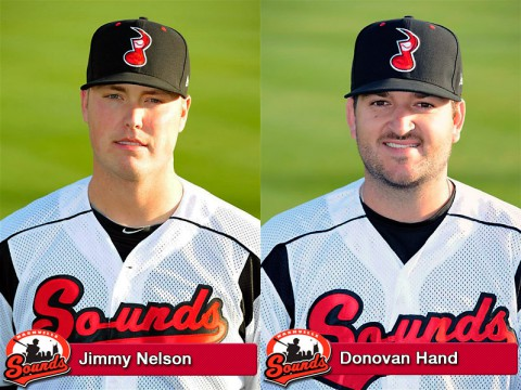 Jimmy Nelson and Donovan Hand to represent Nashville Sounds in PCL Triple-A All-Star Game on July 16th