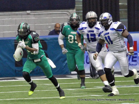 Nashville Venom defeat Columbus 44-39 to move into the Championship game of the PIFL. (Mateen Sidiq - Nashville Sports Network)