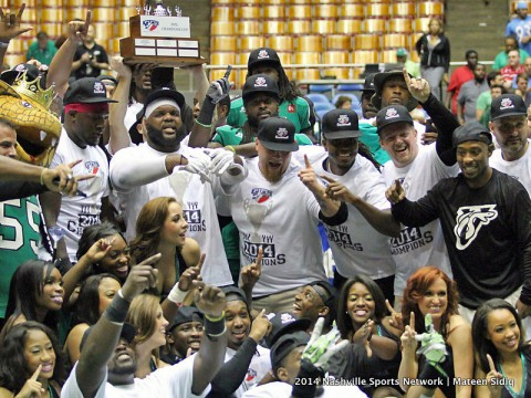 Nashville Venom win PIFL Championship over Lehigh Valley 64-43. (Mateen Sidiq - Nashville Sports Network)