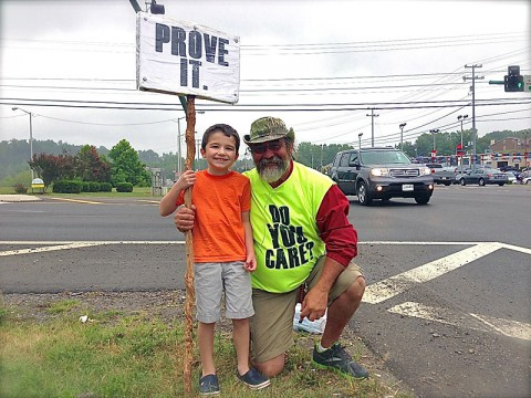 Prove It Clarksville: Kenny York makes a friend.