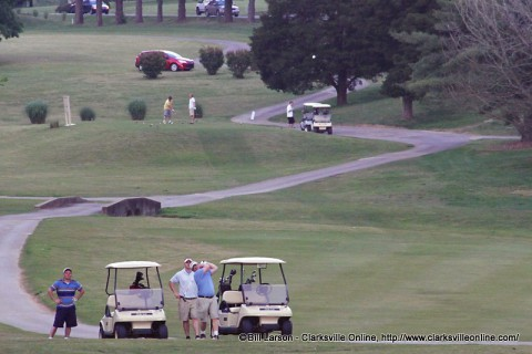 School Resource Officer/Reserve Golf Scramble Fundraiser was held at the Swan Lake Golf Course Friday.