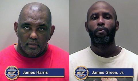 TBI nabs James Harris and James Green, Jr.