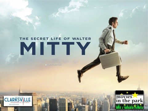 'The Secret Life of Walter Mitty' to play at the next Clarksville Parks and Recreation's Movies in the Park.