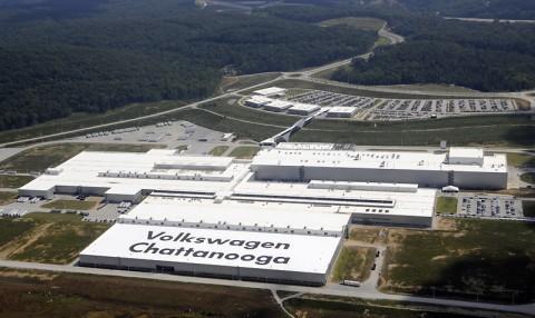 Volkswagen Chattanooga. (©Volkswagen of America, Inc.)