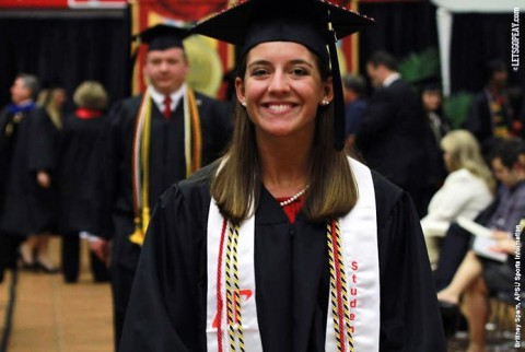 Austin Peay Graduated Rachel Deaton was one of three Lady Govs to be named WGCA All-American Scholar. (APSU Sports Information)
