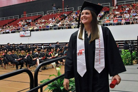 11 APSU athletes participate in summer commencement ceremonies
