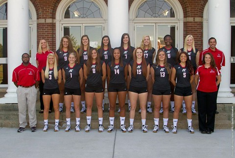 Austin Peay State University's volleyball team plays first home game Tuesday. (APSU Sports Information)