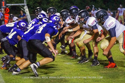 Clarksville High School Football falls to Ravenwood 41-7. (Michael Rios - Clarksville Sports Network)