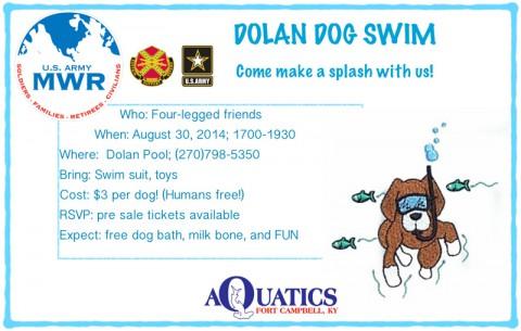 2014 Doggie Swim
