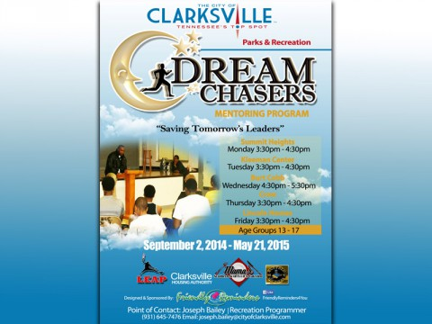 Clarksville Parks and Recreation's DreamChasers program