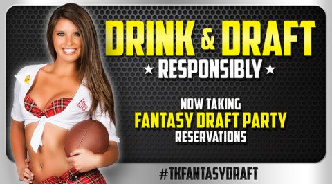 Hold your NFL Fantasy Draft party at Clarksville' s Tilted Kilt