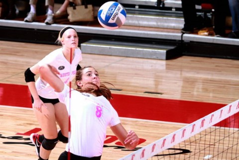 Senior Elizabeth Landon was received the OVC Academic Medal of Honor for the third time in her career. (APSU Sports Information)