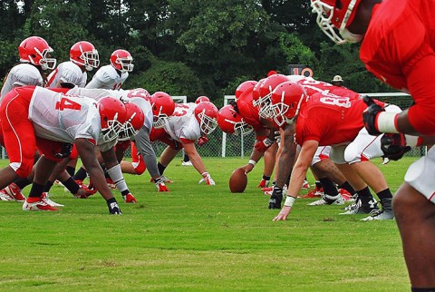 Austin Peay State University's football team will scrimmage for a second time Friday afternoon at the APSU Intramural Field. (APSU Sports Information)