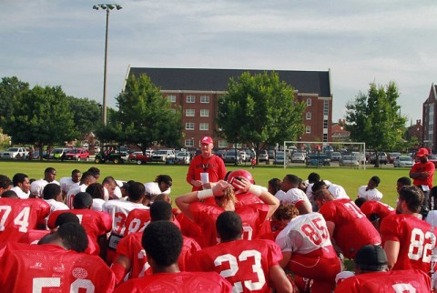 Austin Peay Football opens the 2014 season at Memphis tonight. (APSU Sports Information)