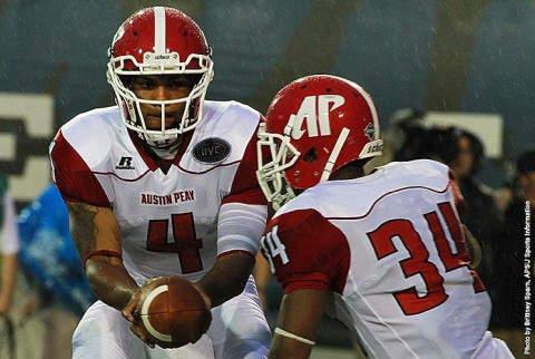 Austin Peay Governors Football loses at Memphis, 63-0. (APSU Sports Information)