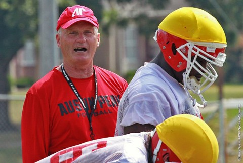 Football head coach Kirby Cannon is in his second Austin Peay season. (APSU Sports Information)