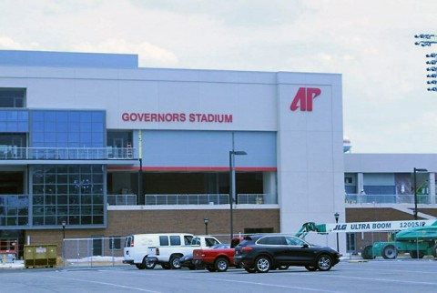 Austin Peay State University's new Governors Stadium is in its final stages of construction. (APSU Sports Information)