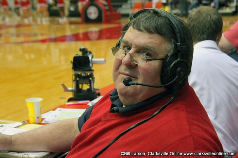 APSU Govs radio voice Greg Walker