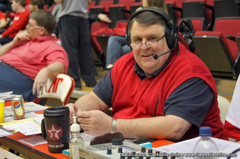 Austin Peay State University Governors radio voice Greg Walker