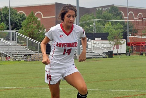 APSU falls to Indiana State 1-0 in exhibition soccer. (APSU Sports Information)
