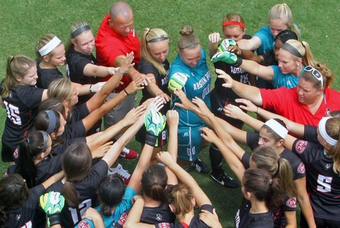 Austin Peay Lady Govs Soccer falls to Kentucky 5-0 in exhibition soccer. (APSU Sports Information)