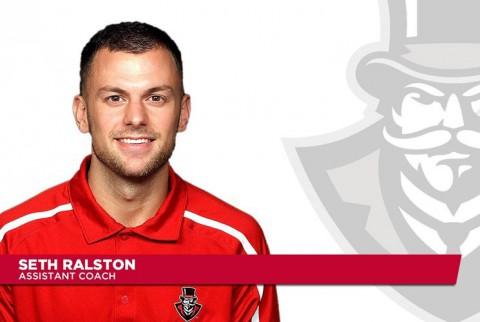 APSU assistant coach Seth Ralston.