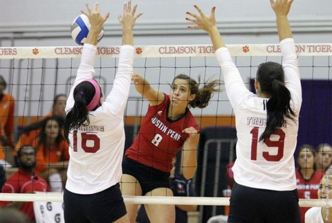 APSU falls to Troy in first match at Big Orange Bash (APSU Sports Information)