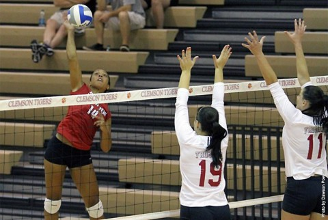 Austin Peay senior outside hitter Jada Stotts leads Austin Peay into its sternest test of the 2014 campaign, Friday-Saturday, at Western Kentucky. (APSU Sports Information)
