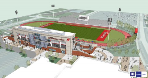 The new APSU Governors football stadium