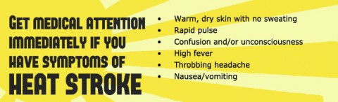 American Heart Association - Heat Stroke Symptoms