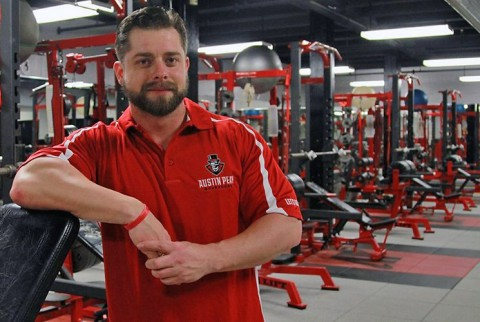 Austin Peay Governors strength and conditioning coordinator Nick Honzik. (APSU Sports Information)