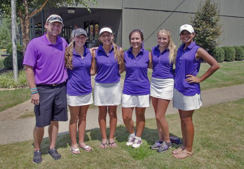 Clarksville High School's Girls Golf Team wins Paducah Tilghman Invitational Golf Tournament.
