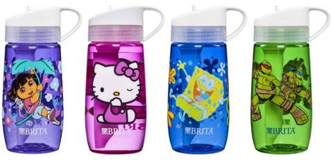 Dora the Explorer®, Hello Kitty®, SpongeBob Square Pants®, and Teenage Mutant Ninja Turtles® Water Bottles being recalled by BRITA.