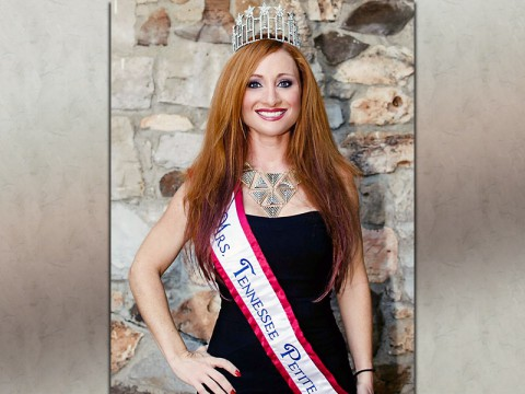 Mrs. Tennessee Petite America 2014 Crystal Nyhus to hold Sanctuary Inc. Collection Drive at the Tilted Kilt Saturday. (Crystal Mongold Eisenhofer, CEME Photography)