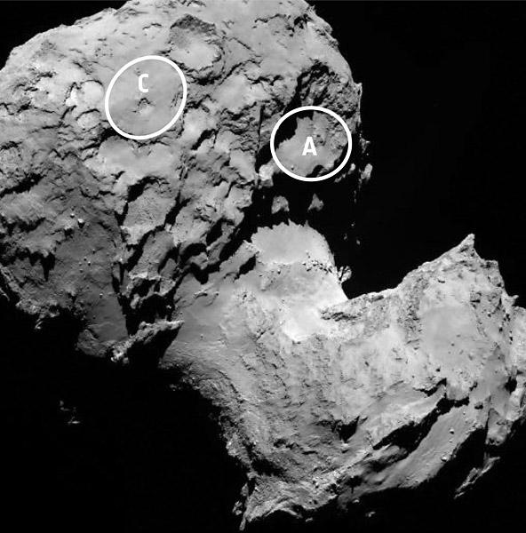 NASA says Rosetta Mission has selected Comet Landing Sites ...