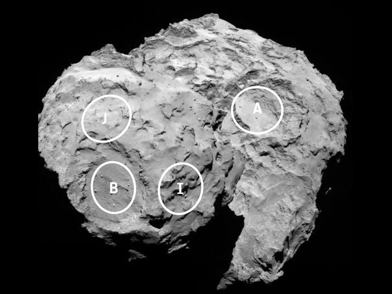 philae comet lander nasa - photo #14