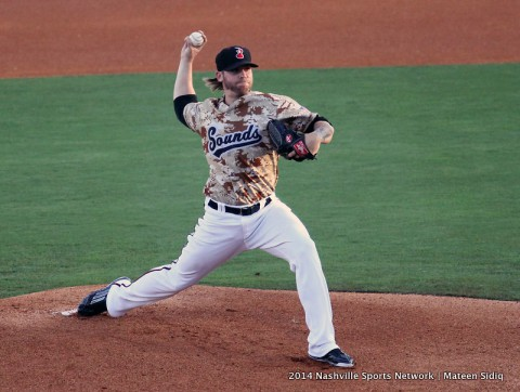 Nashville Sounds defeat Sacramento 14-2 at Greer Stadium. (Mateen Sidiq/Nashville Sports Network)