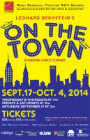 On the Town at the Roxy Regional Theatre