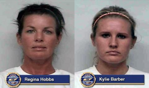 Regina Hobbs and Kylie Barber arrested for False Report of Rape