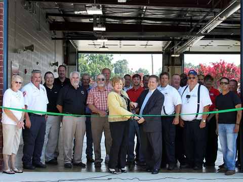 Ribbon Cutting Ceremony for EMS Station #23