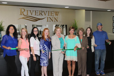 The Riverview Inn's Green Certification Ribbon Cutting