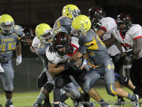 Rossview High School loses 41-27 to Hillsboro High School Friday night.