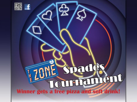 2014 Spades Tournament at The Zone